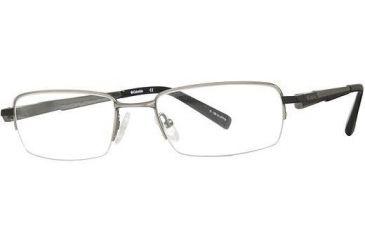 Columbia East Peak Progressive Prescription Eyeglasses - Frame Silver/Black, Size 52/20mm CBEASTPEAK01