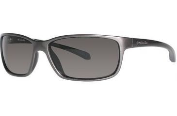 Columbia EL CAPITAN Sunglasses - Frame Metallic Gunmetal/Metallic Carbon Blue, Lens Color Grey, Size 60/15mm CBCAPITANPZ613