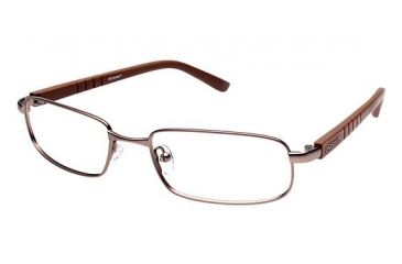 Columbia ENNISON Progressive Prescription Eyeglasses - Frame BROWN/DARK BROWN, Size 54/18mm CBENNISON03