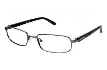 Columbia ENNISON Progressive Prescription Eyeglasses - Frame GUN/BLACK, Size 54/18mm CBENNISON02