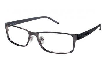 Columbia Eriksson Progressive Prescription Eyeglasses - Frame Gun w. Black, Size 53/16mm CBERIKSSON02