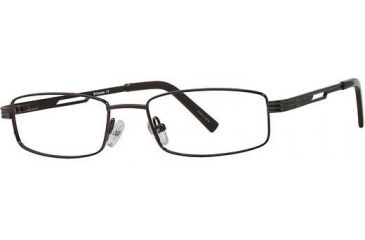 Columbia Garnett Progressive Prescription Eyeglasses - Frame Brown, Size 49/17mm CBGARNETT03