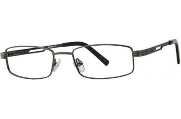 Columbia Garnett Progressive Prescription Eyeglasses - Frame Brushed Gunmetal, Size 49/17mm CBGARNETT02