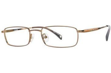 Columbia Hailey Hills 105 Eyeglass Frames - Frame Brown Gloss, Size 47/17mm CBHAILEYHLS10501