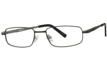 Columbia Hinton Bifocal Prescription Eyeglasses - Frame Black/Gunmetal, Size 50/17mm CBHINTON01