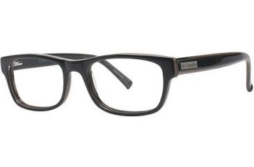 Columbia Iron Mountain Single Vision Prescription Eyeglasses - Frame Black, Size 53/18mm CBIRONMOUNTAIN01