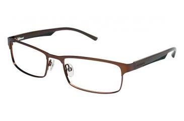 Columbia James Peak Single Vision Prescription Eyeglasses - Frame Brown/Black, Size 53/17mm CBJAMESPEAK01