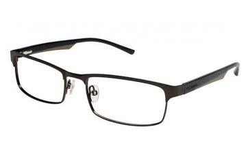 Columbia James Peak Single Vision Prescription Eyeglasses - Frame Green/Black, Size 53/17mm CBJAMESPEAK02