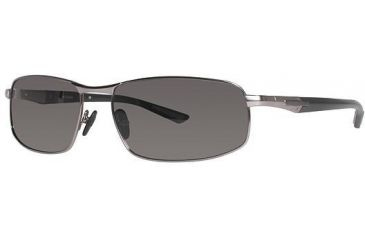Columbia JET STREAM 300 Sunglasses - Frame Matte Silver/Grey, Lens Color Grey, Size 63/17mm CBJETSTRM30002