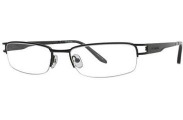 Columbia Madeira 321 Single Vision Prescription Eyeglasses - Frame Black, Size 52/18mm CBMADEIRA32101