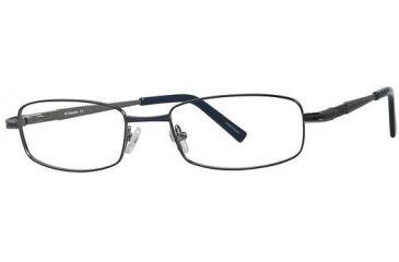 Columbia Palomar Eyeglass Frames - Frame Navy/Gunmetal, Size 53/19mm CBPALOMAR01