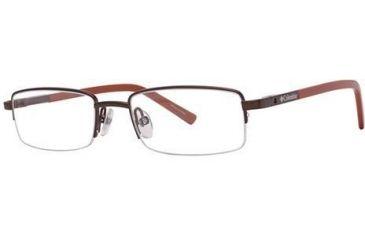 Columbia Raven Bifocal Prescription Eyeglasses - Frame Brown/Heatwave Orange, Size 48/17mm CBRAVEN01