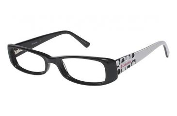 Columbia Reese Creek Bifocal Prescription Eyeglasses - Frame Black/White CBREESECREEK01