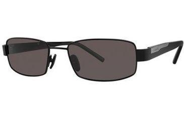 Columbia Ridgefield 20 Bifocal Prescription Sunglasses CBRIDGEFIELD20PZ01 - Frame Color: Black / Smoke