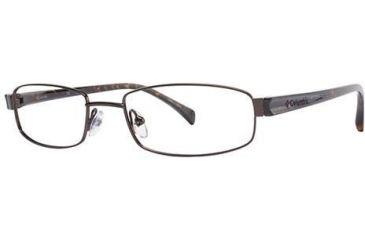 Columbia Riverbend 102 Single Vision Prescription Eyeglasses - Frame Brown, Size 53/18mm CBRIVERBEND10201