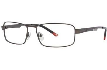 Columbia RockCreek Bend Single Vision Prescription Eyeglasses - Frame Semi Matte Dark Grout, Size 56/16mm CBROCKCREEKBEND01
