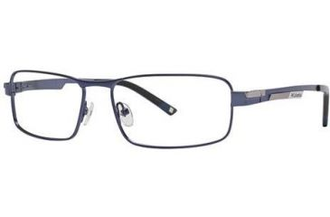 Columbia RockCreek Bend Single Vision Prescription Eyeglasses - Frame Semi Matte Oxide Blue, Size 56/16mm CBROCKCREEKBEND03