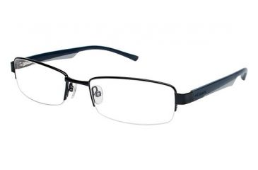 Columbia Rogers Peak Single Vision Prescription Eyeglasses - Frame Black/Blue CBROGERSPEAK02