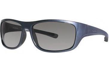 Columbia ShooFly Sunglasses - Frame Metallic Carbon Blue/Metallic Gunmetal, Lens Color Grey, Size 56/14mm CBSHOOFLYPZ615