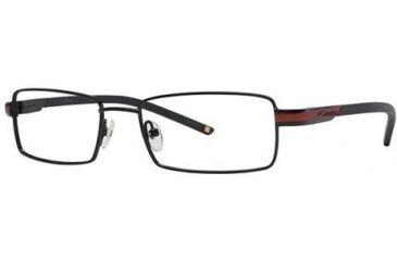 Columbia Silver Falls 100 Eyeglass Frames - Frame Black/Red, Size 51/17mm CBSILVERFALLS10001