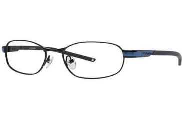Columbia Silver Falls 101 Single Vision Prescription Eyeglasses - Frame Shiny Black/ Oxide Blue, Size 52/17mm CBSILVERFALLS10101