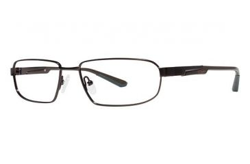 Columbia Southbend Single Vision Prescription Eyeglasses - Frame DARK BROWN/BLACK, Size 55/16mm CBSOUTHBND01