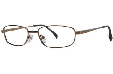 Columbia Spring Creek 105 Single Vision Prescription Eyeglasses - Frame Brushed Twig, Size 48/15mm CBSPRINGCRK10501