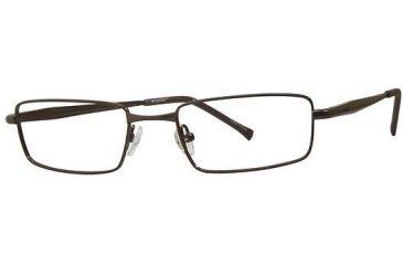 Columbia Tahoe Eyeglass Frames - Frame Semi Matte Brown, Size 51/19mm CBTAHOE02
