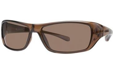 Columbia Thunderstorm Single Vision Prescription Sunglasses CBTHUNDERSTRMPZ502 - Frame Color: Crystalline Brown
