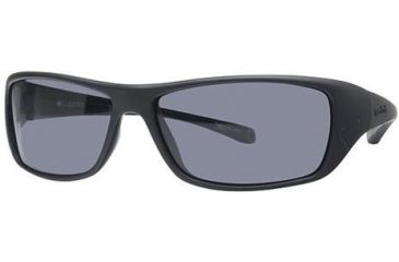 Columbia Thunderstorm Single Vision Prescription Sunglasses CBTHUNDERSTRMPZ301 - Frame Color: Matte Black