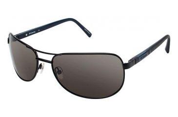 Columbia TIMPANOGAS Bifocal Prescription Eyeglasses - Frame MATTE BLACK/BLACK, Lens Color Smoke, Size 63/17mm CBTIMPANOGAS02
