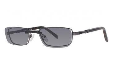 Columbia Venture Creek Eyeglass Frames - Frame GUNMETAL/BLACK/TORT CBVENTURECRK01