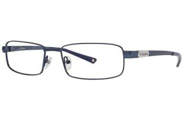 Columbia White River Single Vision Prescription Eyeglasses - Frame Shiny Navy Blue, Size 55/17mm CBWHITERIVER03