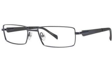 Columbia Zephyr Eyeglass Frames - Frame Semi Matte Gunmetal, Size 55/17mm CBZEPHYR01