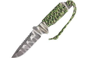 Combat Ready Prodigaul Fixed Blade Knife, 4.375in, Lashing Holes Handle CBR103