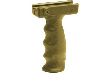 Command Arms Accessories Ergonomic Vertical Grip, Tan AVGT