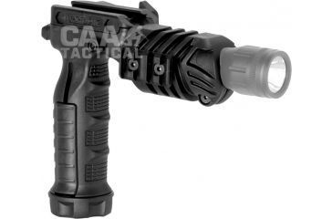 Command Arms Accessories Flashlight Grip Adaptor, Black FGA