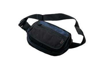 Command Arms Accessories Large Covert 2 Fanny Pack Holster, Black and Blue 5012BB