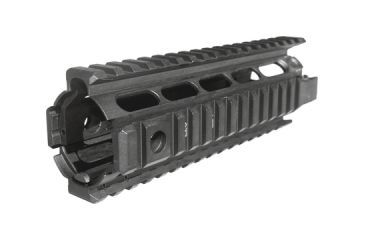 Command Arms Accessories Picatinny Quad Rail Fits AR15/M16 Aluminum Black Oxide Finish