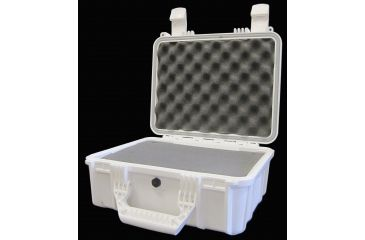 Condition 1 075 Watertight Case with Foam, WHITE H075WHIF8542AC2