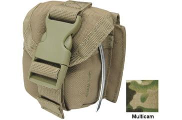 Condor Single Frag Grenade Pouch, Multicam MA15-008