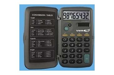 Control Company Big-Digit Solar-Powered Calculator 6023 Vwr Calculator Solar