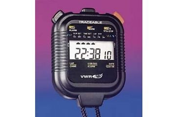 Control Company Big-Digit Stopwatch/Chronograph 1047 Vwr Stopwatch Digitl Lcd 24HR