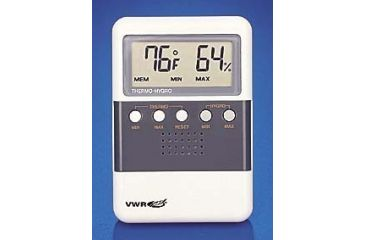 Control Company Digital Hygrometers 4096 Hygrometer/Thermometer With Dual Minimum/Maximum Memory