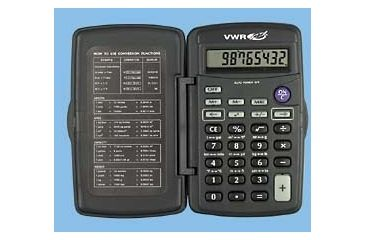Control Company Pocket Metric Calculator 1001 Vwr Pocket Metric Calculator