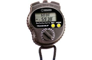 Control Company Countdown Timer/Stopwatch 1035 Vwr Stopwatch Countdown
