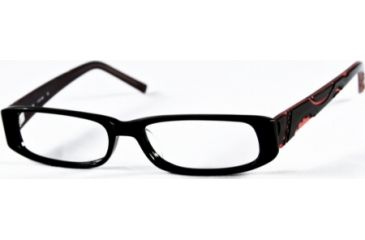 Cover Girl CG0372 Eyeglass Frames - Shiny Black Frame Color