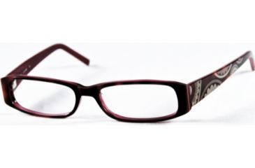Cover Girl CG0372 Eyeglass Frames - Red Havana Frame Color