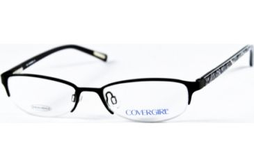 Cover Girl CG0376 Eyeglass Frames - Matte Black Frame Color