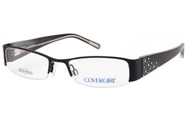 Cover Girl CG0391 Eyeglass Frames - Matte Black Frame Color